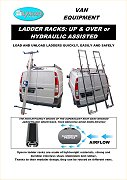 Syncro ladder racks and ladder lift for vans
